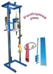 Инструмент для ручного бурения скважин на воду