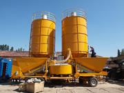 Мобильный бетонный завод М-2200 БСУ РБУ.