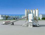 Запуск китайского бетонозавода TRUSEEN-120-Бетон с пультом управления